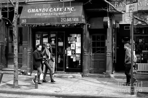 Photograph - Bleeker Street Walk by John Rizzuto