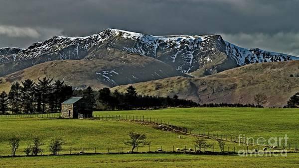 Blencathra Mountain, Lake District Art Print