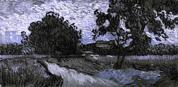 Digital Art - Blend 13 Van Gogh by David Bridburg