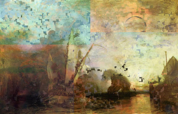 Digital Art - Blend 4 Turner by David Bridburg