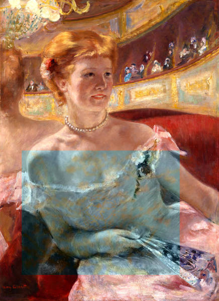 Digital Art - Blend 6 Cassatt by David Bridburg