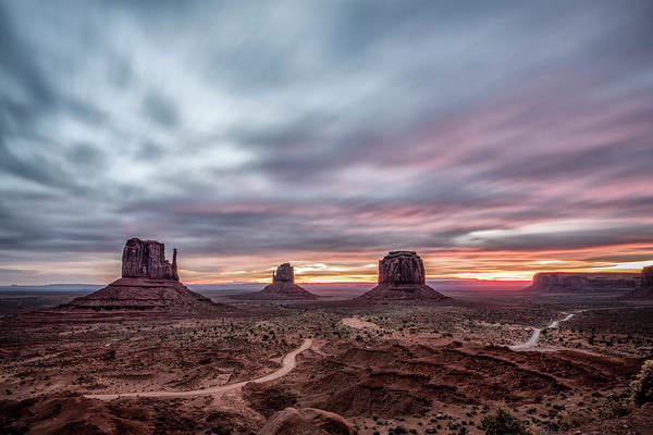 Photograph - Blended Colors Over The Valley by Jon Glaser