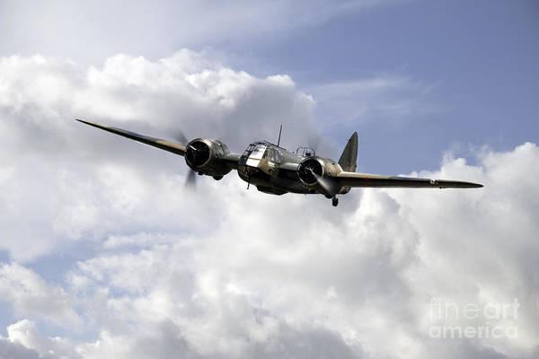 Blenheim Digital Art - Blenheim Light Bomber  by J Biggadike