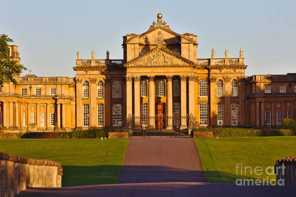 Photograph - Blenheim Palace Entrance by Jeremy Hayden