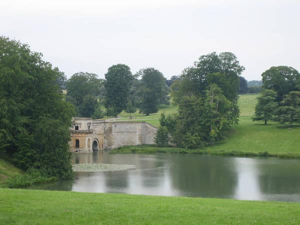 Blenheim Palace Lake Art Print