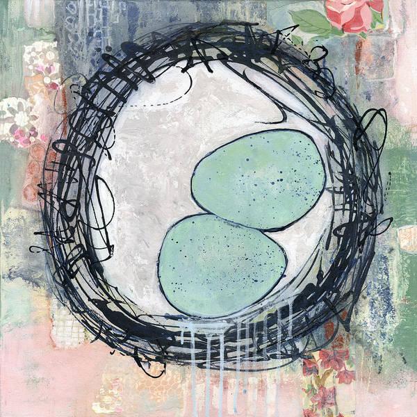 Wall Art - Painting - Bless This Nest by Blenda Studio
