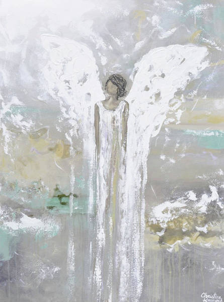 Wall Art - Painting - Blessed With Grace And Joy by Christine Bell