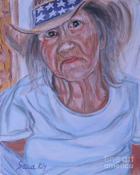 Painting - Blessing, Faith And Hope by Oksana Semenchenko