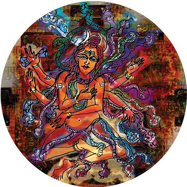 Painting - Blessing Shiva by Guruji Aruneshvar Paris Art Curator Katrin Suter