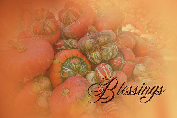 Digital Art - Blessings by Ramona Murdock