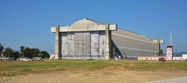 El Toro Photograph - Blimp Hanger From Closed El Toro Marine Corps Air Station by Linda Brody