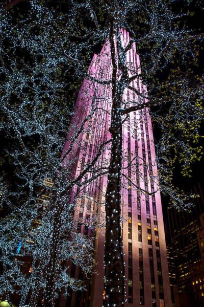 Uptown Manhattan Photograph - Bling by Az Jackson