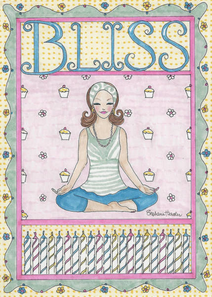 Mixed Media - Bliss by Stephanie Hessler