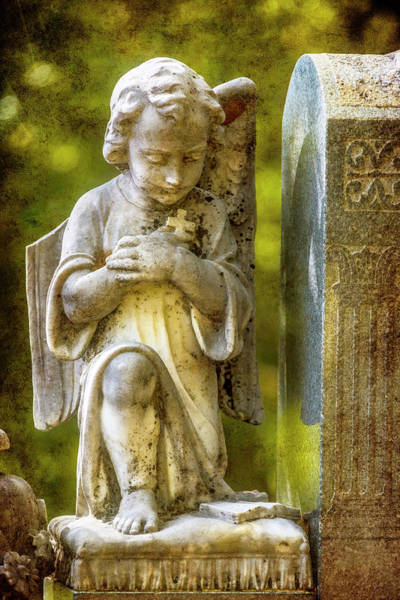Wall Art - Photograph - Blissful Angel by Garry Gay