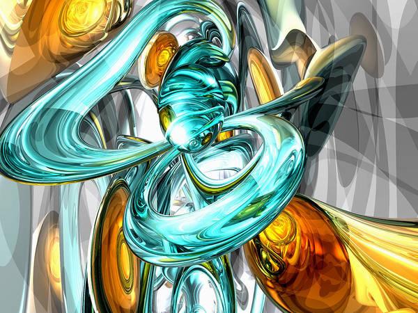 Elation Digital Art - Blissfulness Abstract by Alexander Butler