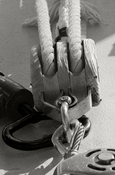 Photograph - Block And Tackle by Michael Kirk