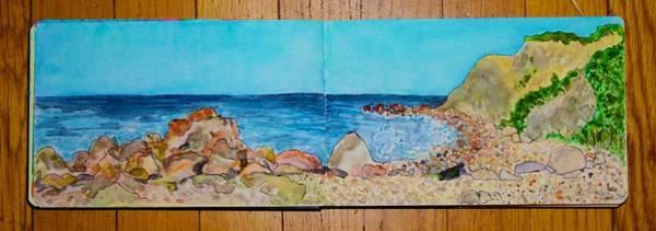 Painting - Block Island Beach by Polly Castor