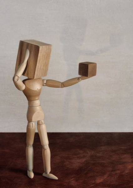 Photograph - Blockhead by Mark Fuller