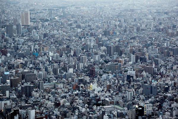 Urban Photograph - Blockscape by Koji Tajima