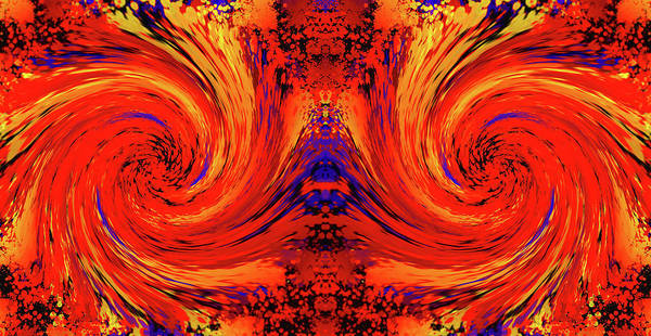Photograph - Blodger Abstract by John Williams