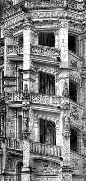 Chateau Photograph - Blois Castle Staircase by Olivier Le Queinec