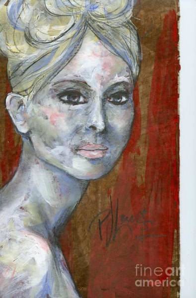 Wall Art - Painting - Blonde Ghost by PJ Lewis