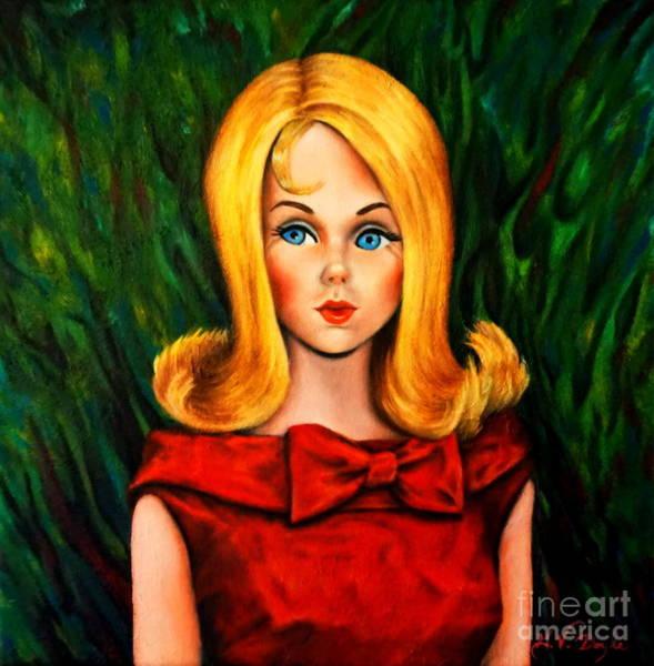 Blonde Marlo Flip Tnt Barbie Art Print