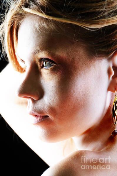 Photograph - Blonde Profile by Robert WK Clark