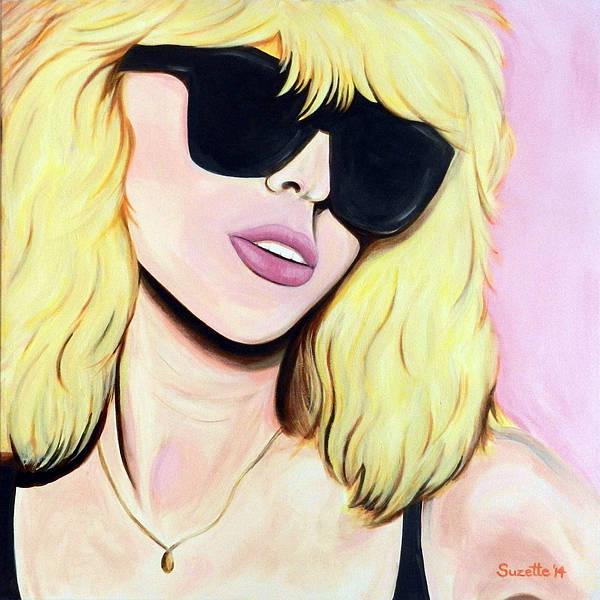 Rockstar Painting - Blondie-debbie Harry by Suzette Castro