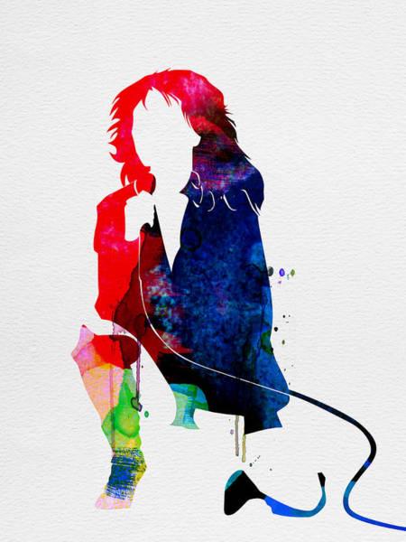Band Digital Art - Blondie Watercolor by Naxart Studio