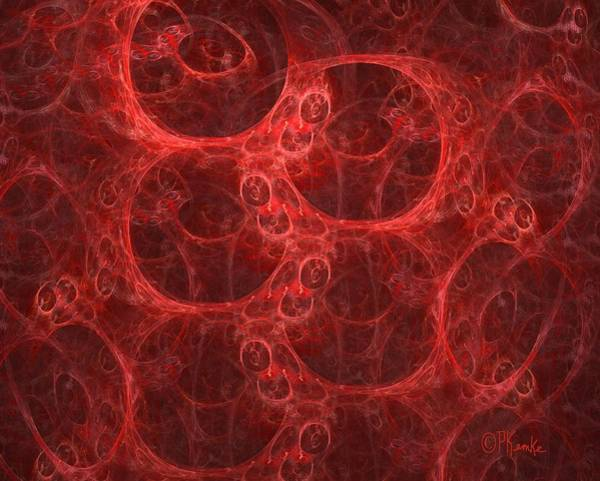 Wall Art - Digital Art - Blood Cells by Patricia Kemke