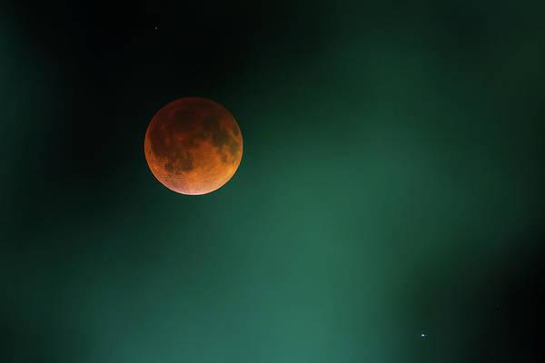 Photograph - Blood Moon by Ryan Heffron