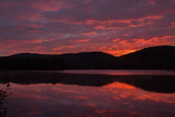 Photograph - Blood Red Sky by Nancy De Flon