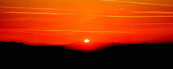 Angeles Photograph - Blood Red Sunset by Az Jackson