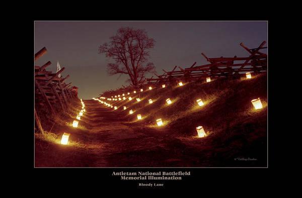 Luminaries Photograph - Bloody Lane 99 by Judi Quelland