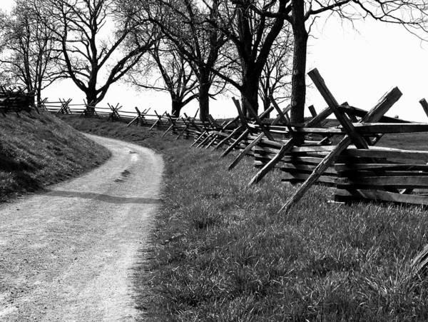Antietam Battlefield Photograph - Bloody Lane by Brian M Lumley