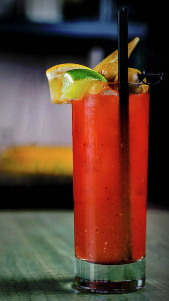 Hair Of The Dog Wall Art - Photograph - Bloody Mary by Ryan Smith