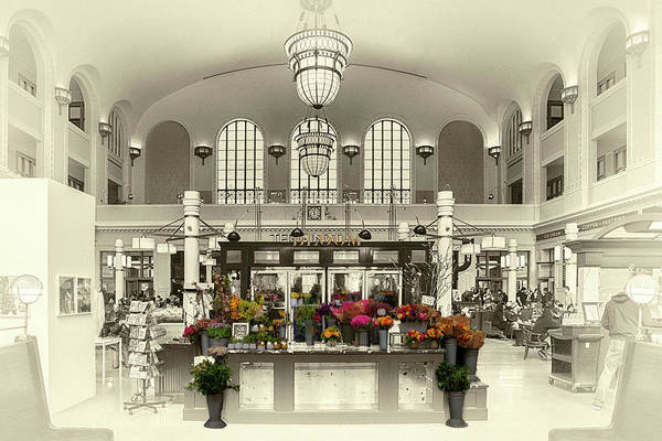 Photograph - Bloom At The Station by Susan Rissi Tregoning