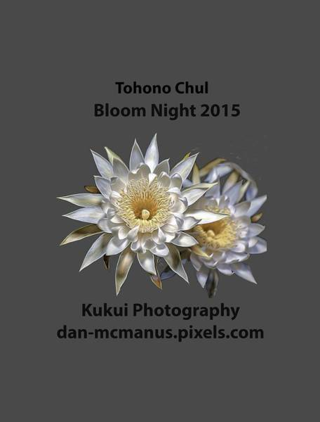 Photograph - Bloom Night T Shirt by Dan McManus