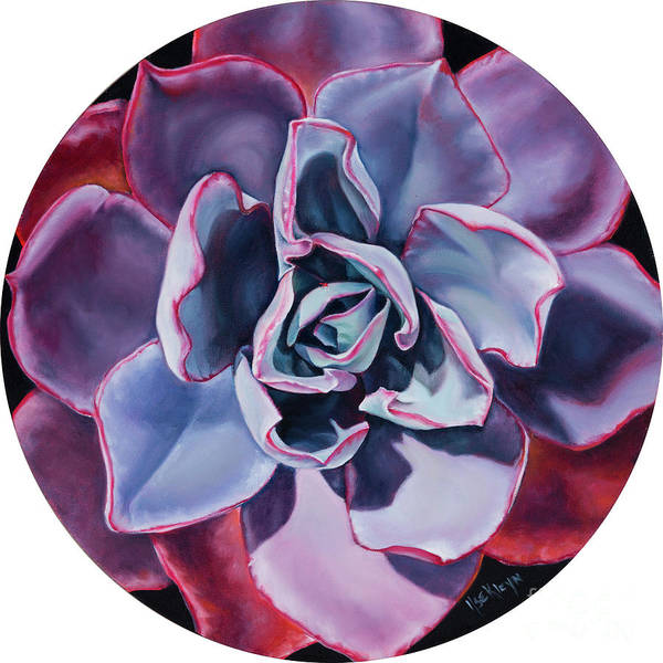 Desert Rose Painting - Bloom Where You Are Planted II by Ilse Kleyn