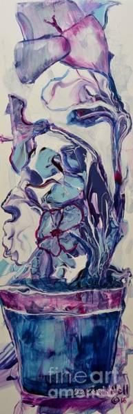 Painting - Blooming Blues by Deborah Nell