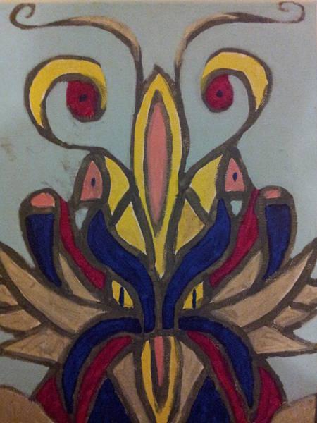 Emanate Painting - Blooming Flower by William Douglas