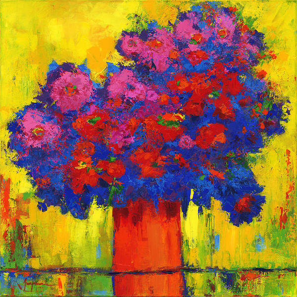 Painting - Blossoming Joy by Patricia Awapara