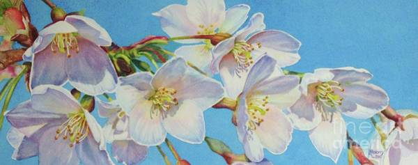Painting - Blossoms by Greg and Linda Halom