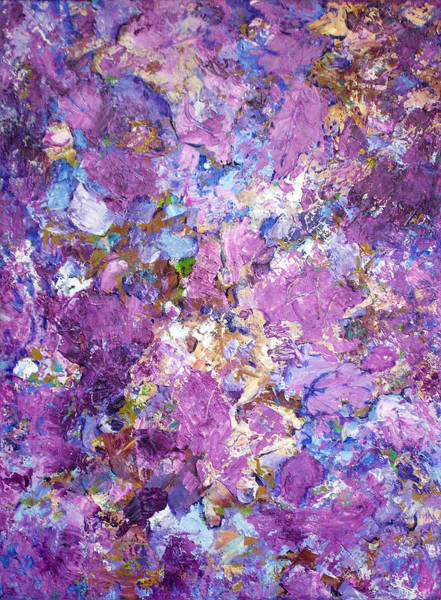 Painting - Blossoms On The Breeze by Lynda Lehmann