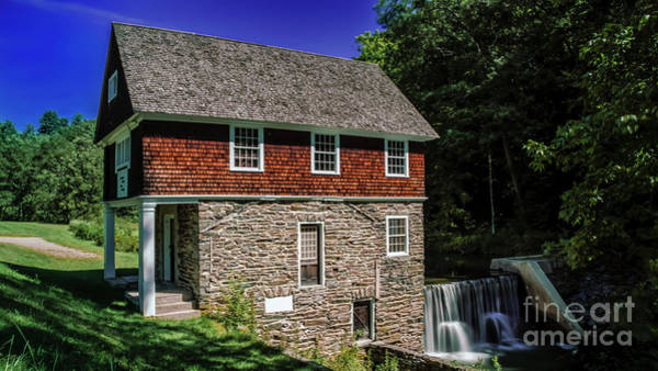 Photograph - Blow-me-down Mill by New England Photography