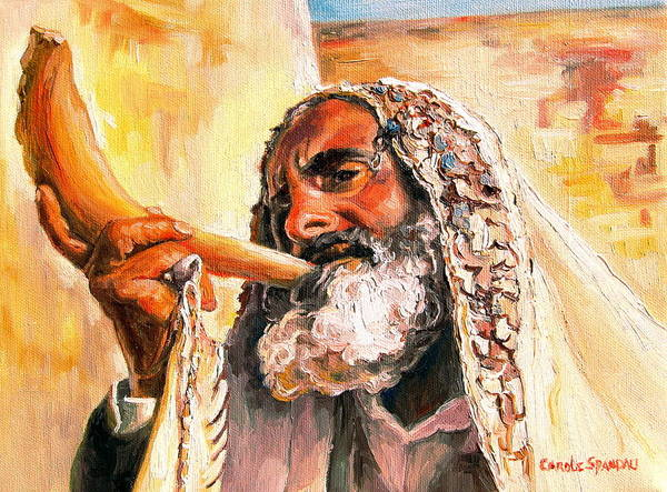 Painting - Blow The Trumpet In Zion by Carole Spandau