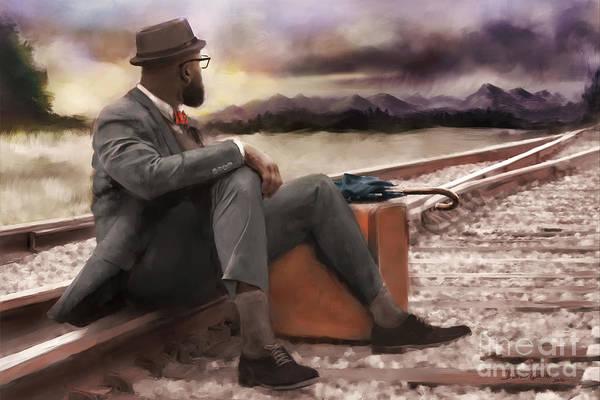 Digital Art - Blowin' In The Wind by Dwayne Glapion