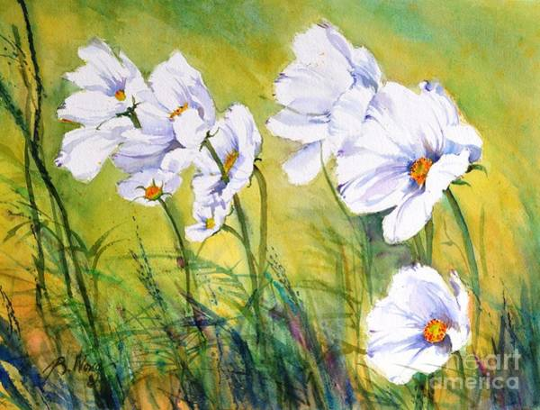 Painting - Blowing In The Wind by Betty M M Wong