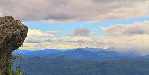 Photograph - Blowing Rock Panorama by Dan Sproul